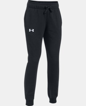 PRO PICK Girls' UA Threadborne™ Fleece Jogger LIMITED TIME OFFER 1 Color $31.49