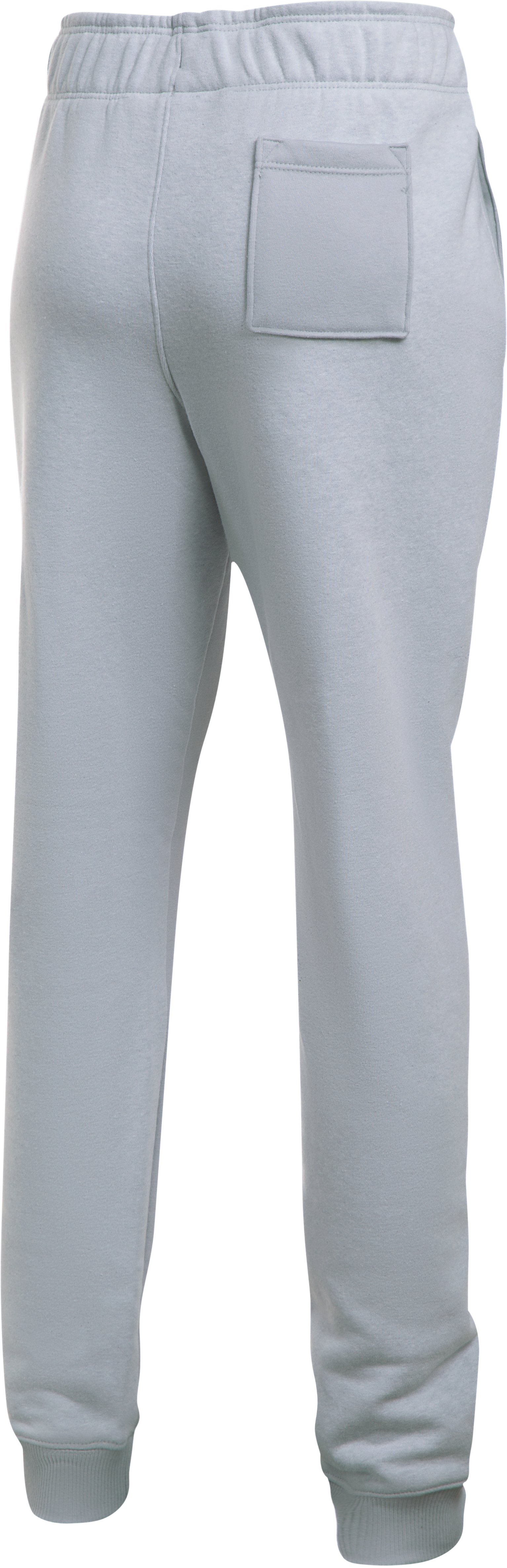 Girls' UA Threadborne™ Fleece Jogger, OVERCAST GRAY,