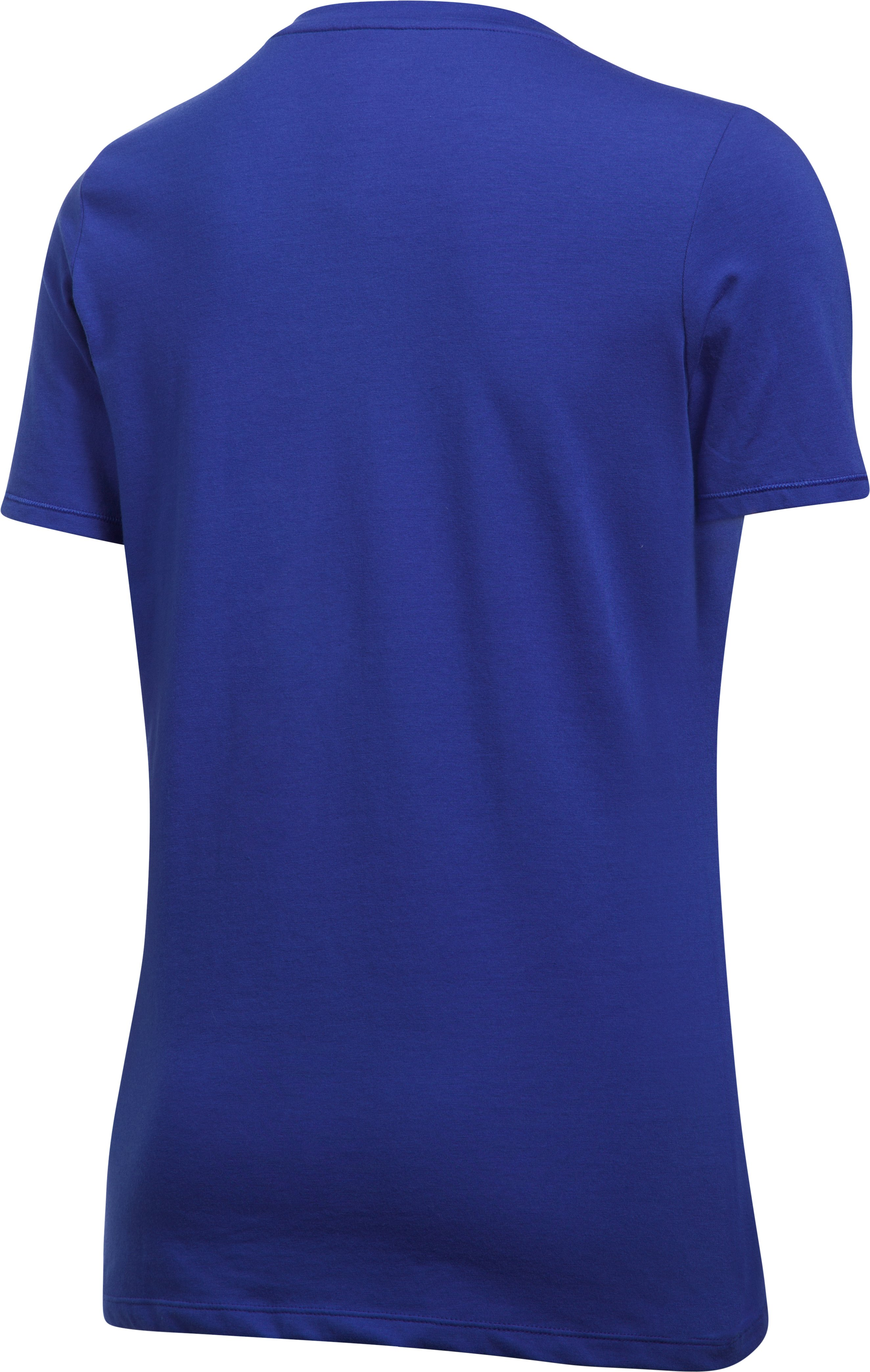 Women's Chicago Cubs Offshore V-Neck, Royal,