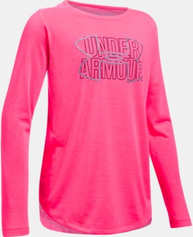 New to Outlet Girls' Threadborne™ Knit Long Sleeve  1 Color $20.99 to $29.99