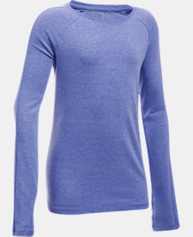 Girls' UA Favorite Knit Long Sleeve  1 Color $29.99