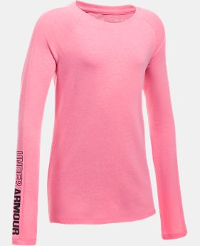 New Arrival Girls' UA Favorite Knit Long Sleeve  1 Color $29.99