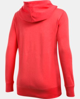 Women's UA Favorite Fleece Exploded Logo Pullover  1 Color $49.99