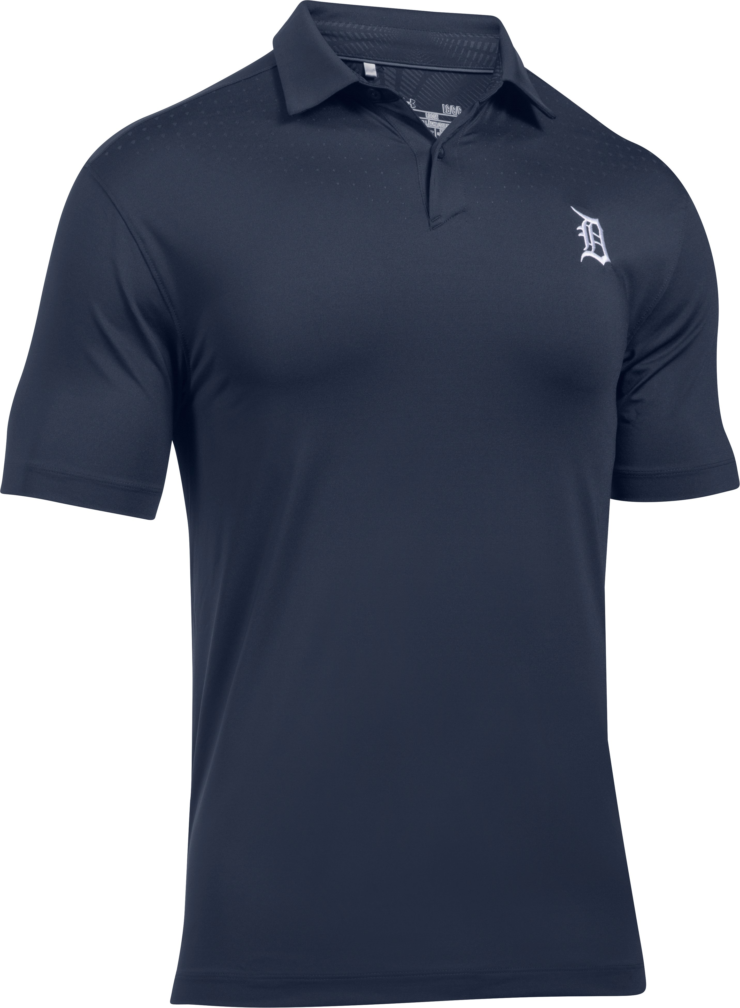 Men's Detroit Tigers CoolSwitch Polo, Midnight Navy,