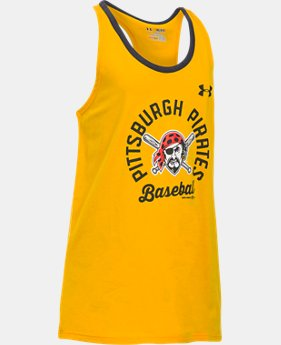 Girls' Pittsburgh Pirates Ringer Tank  1 Color $18.99