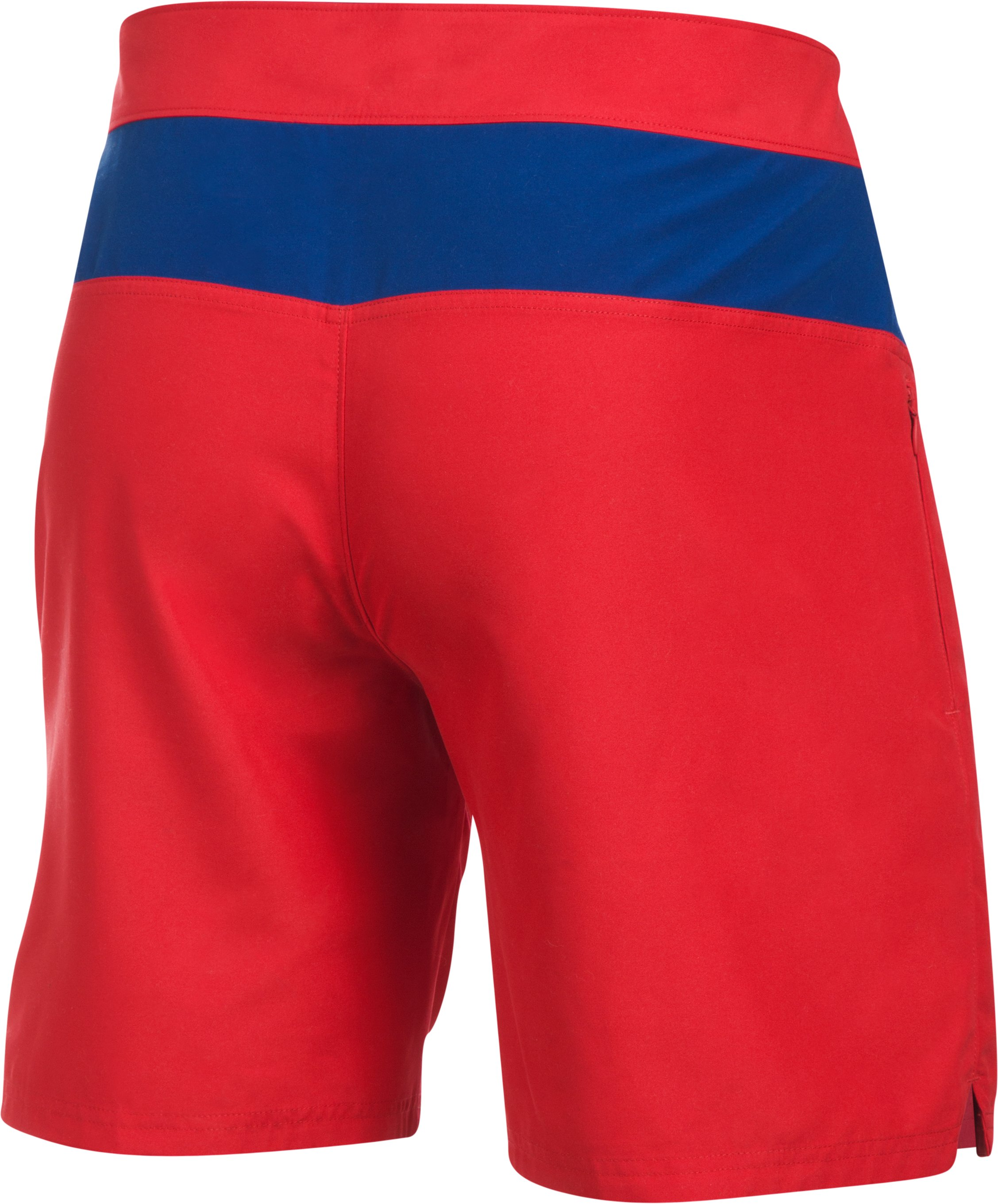 Men's Baywatch UA Boardshorts, Red,