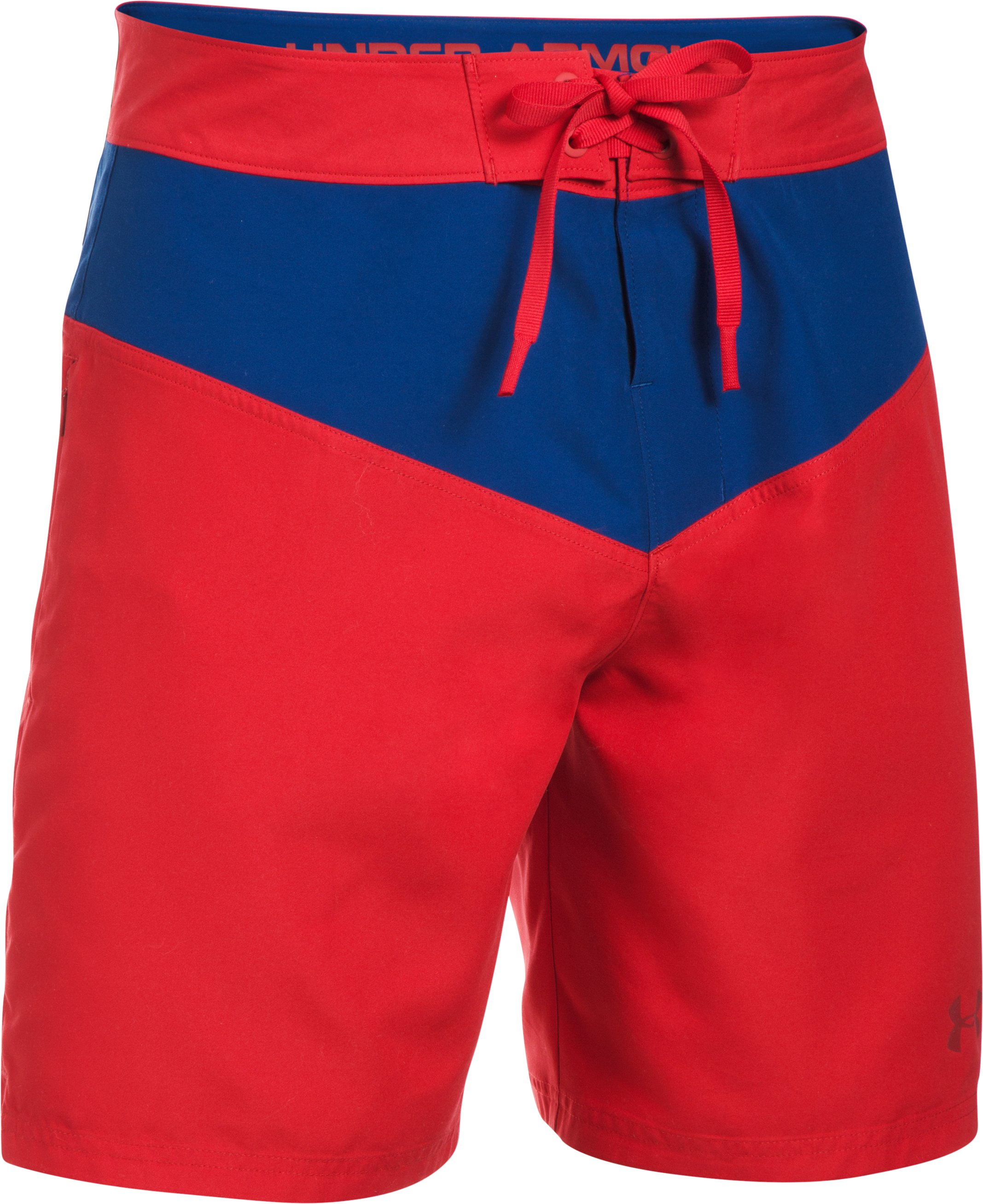Men's Baywatch UA Boardshorts, Red, undefined