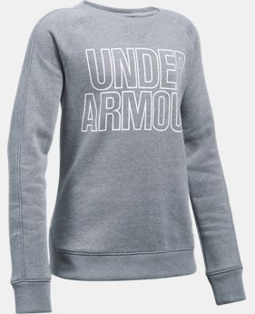 Girls' UA Favorite Fleece Hoodie LIMITED TIME OFFER 3 Colors $29.99