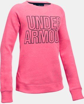 Girls' UA Favorite Fleece Hoodie LIMITED TIME OFFER 2 Colors $29.99