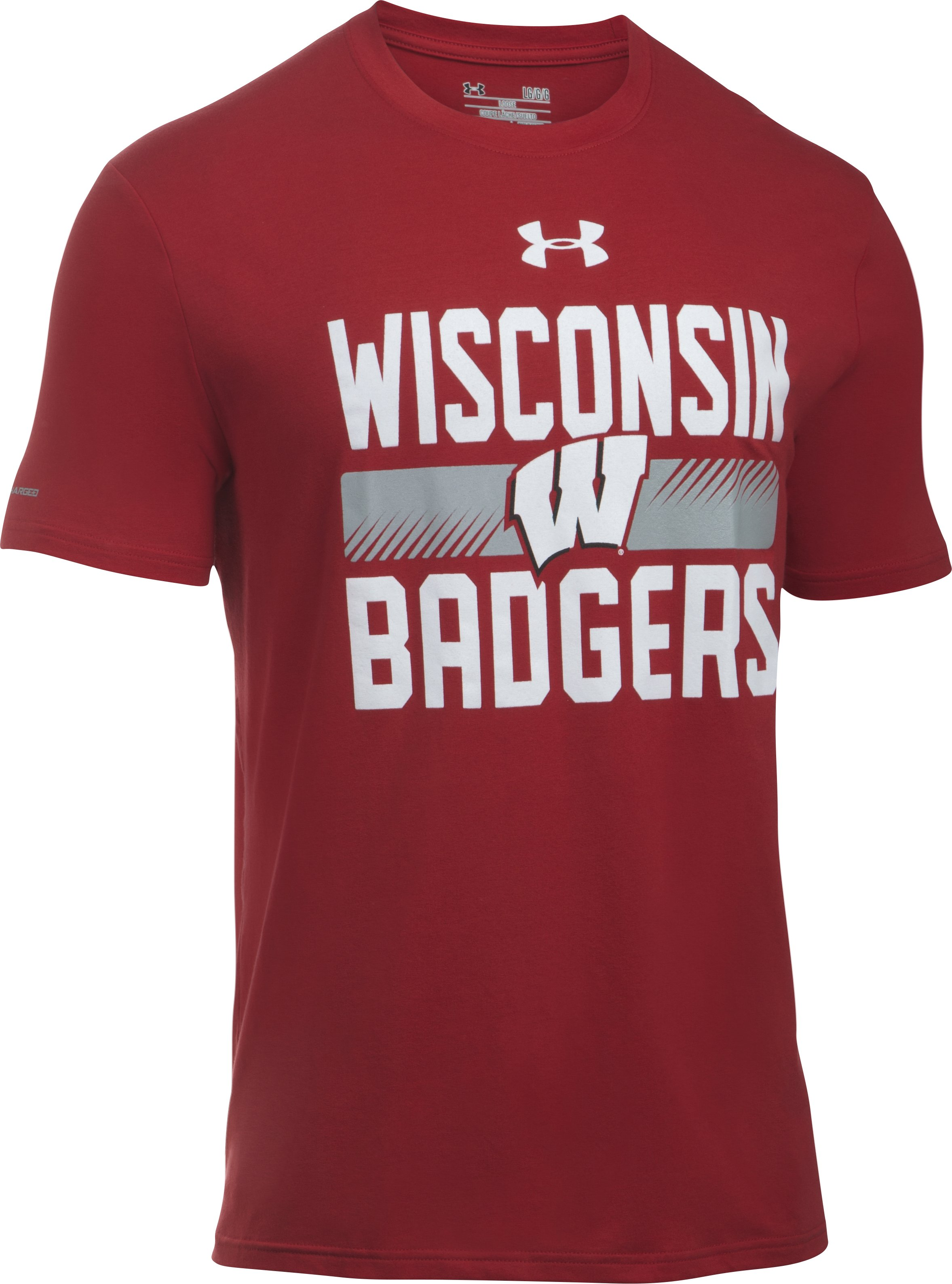 Men's Wisconsin T-Shirt, Flawless, undefined