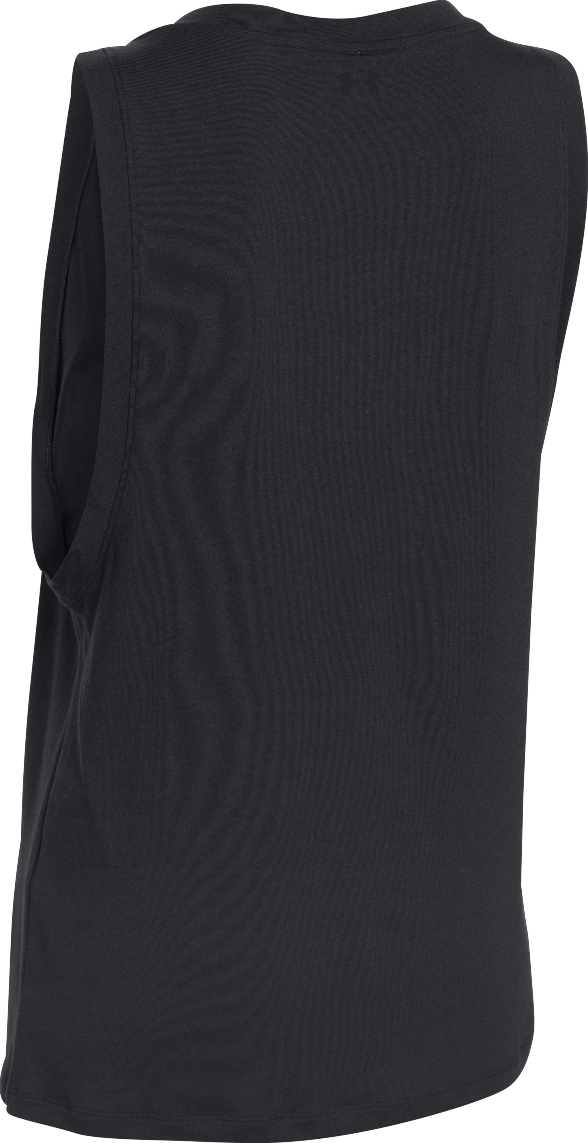 Flex Day Muscle Tank, Black , undefined
