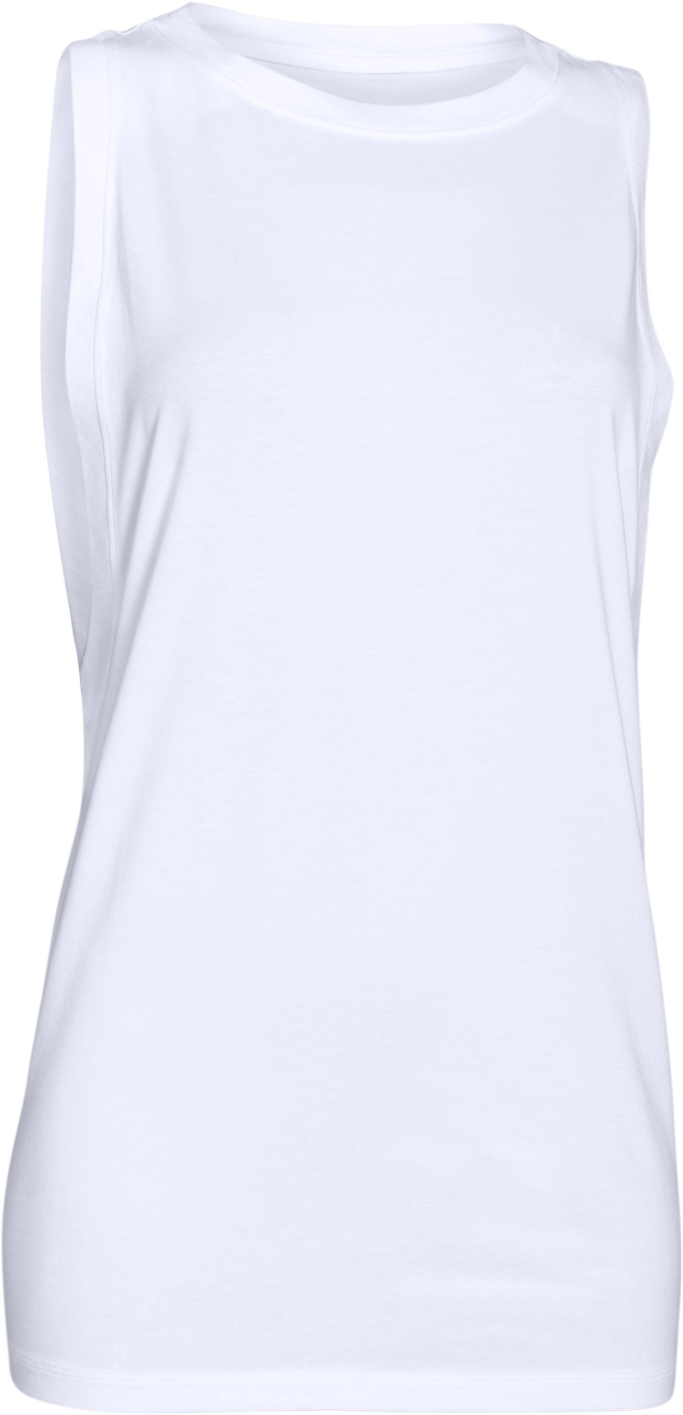 Resting Gym Face Muscle Tank, White, undefined