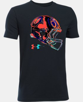 Boys' UA Football Space Helmet T-Shirt  1 Color $14.99