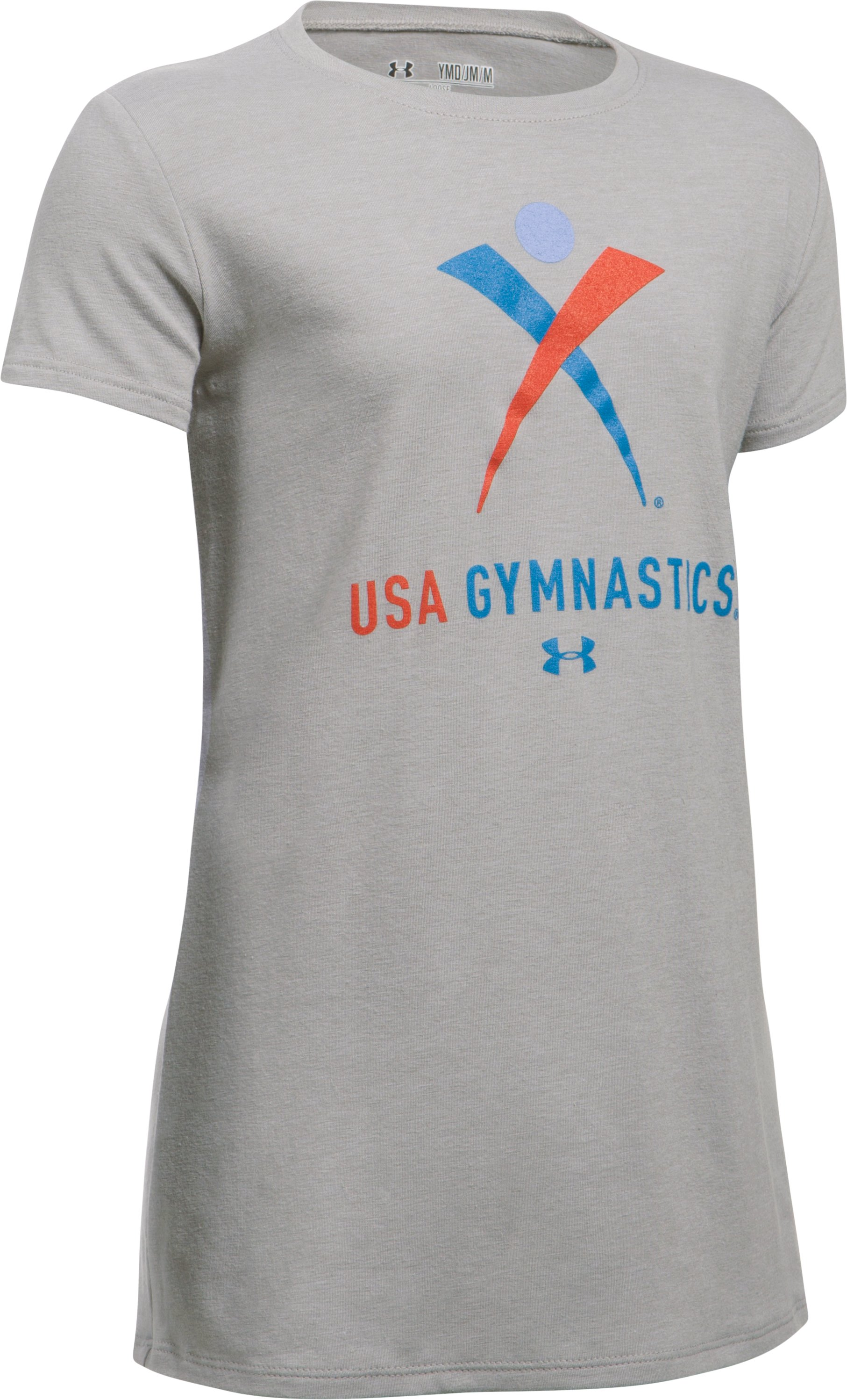 USA Gym SS T, True Gray Heather