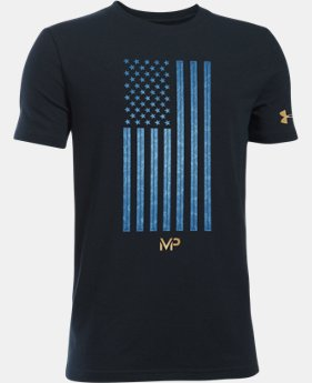Kids' Michael Phelps Flag T-Shirt LIMITED TIME: FREE U.S. SHIPPING 1 Color $24.99