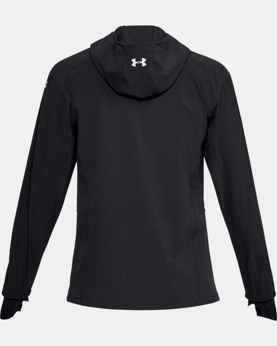 Women's UA Outrun The Storm Jacket, Black, pdpMainDesktop image number 5