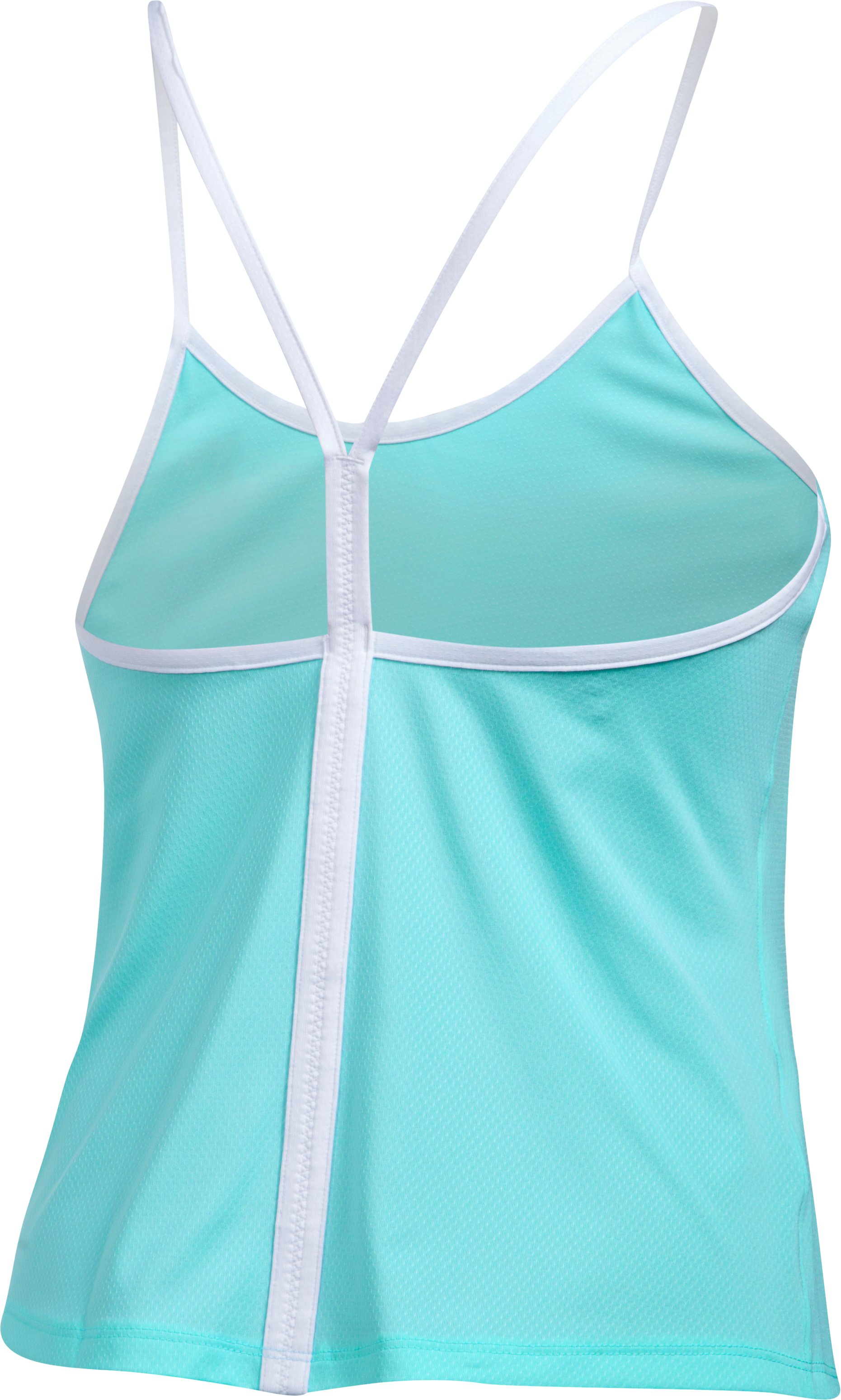 Women's UA Fly-By Strappy Tank, BLUE INFINITY, undefined