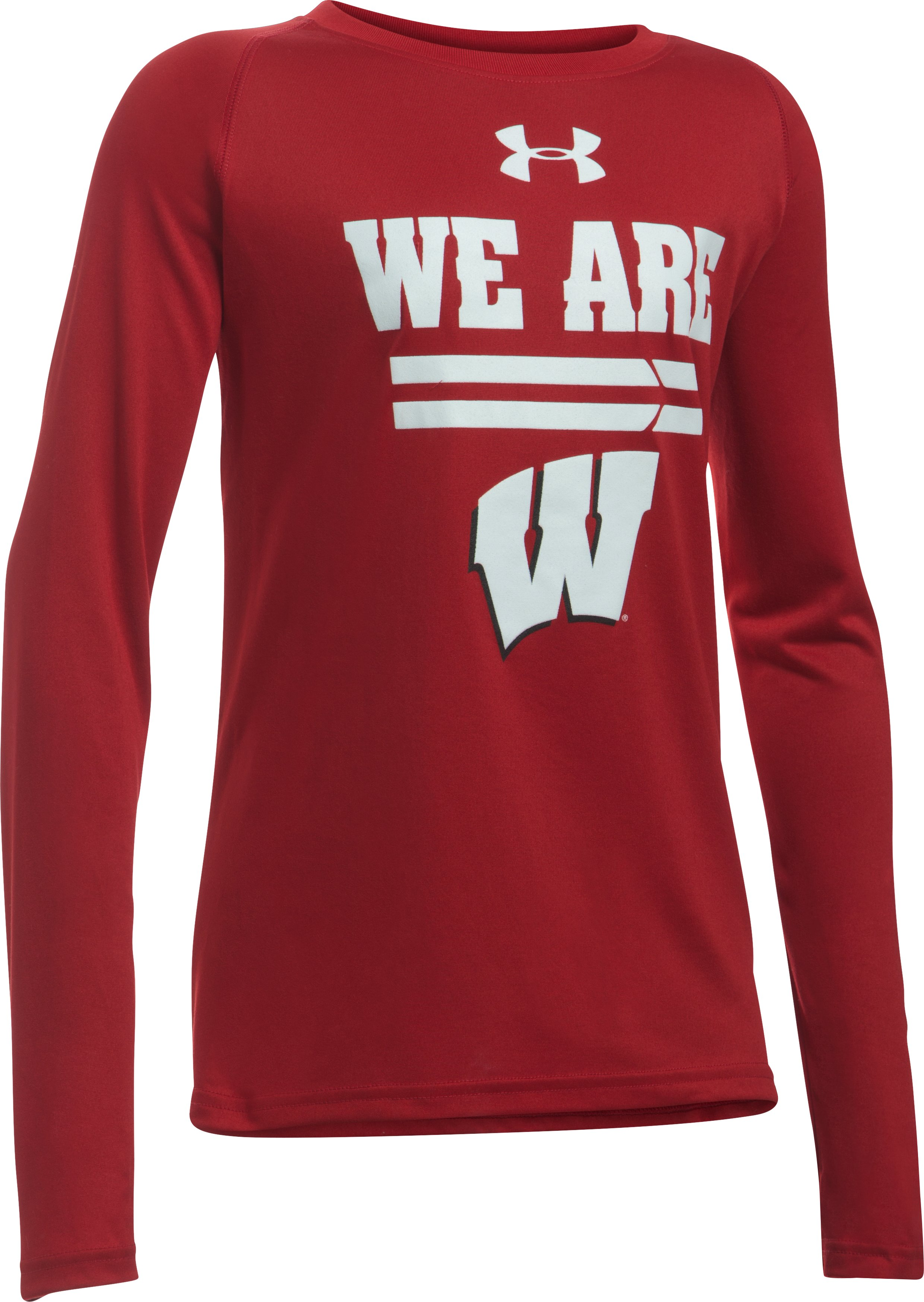 Boys' Wisconsin Long Sleeve T-Shirt, Flawless
