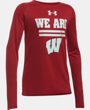 Boys' Wisconsin Long Sleeve T-Shirt  1 Color $29.99