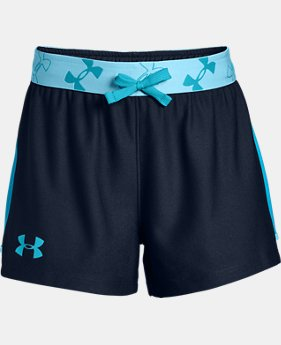 Girls' UA Kick it Shorts FREE U.S. SHIPPING 3  Colors Available $20