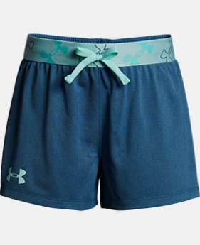 Girls' UA Kick it Shorts LIMITED TIME: FREE SHIPPING 6  Colors Available $25