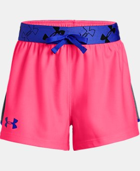 Girls' UA Kick it Shorts  1 Color $20