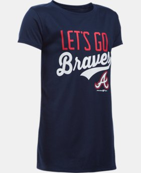 Girls' Atlanta Braves UA Tech™ T-Shirt  1 Color $24.99