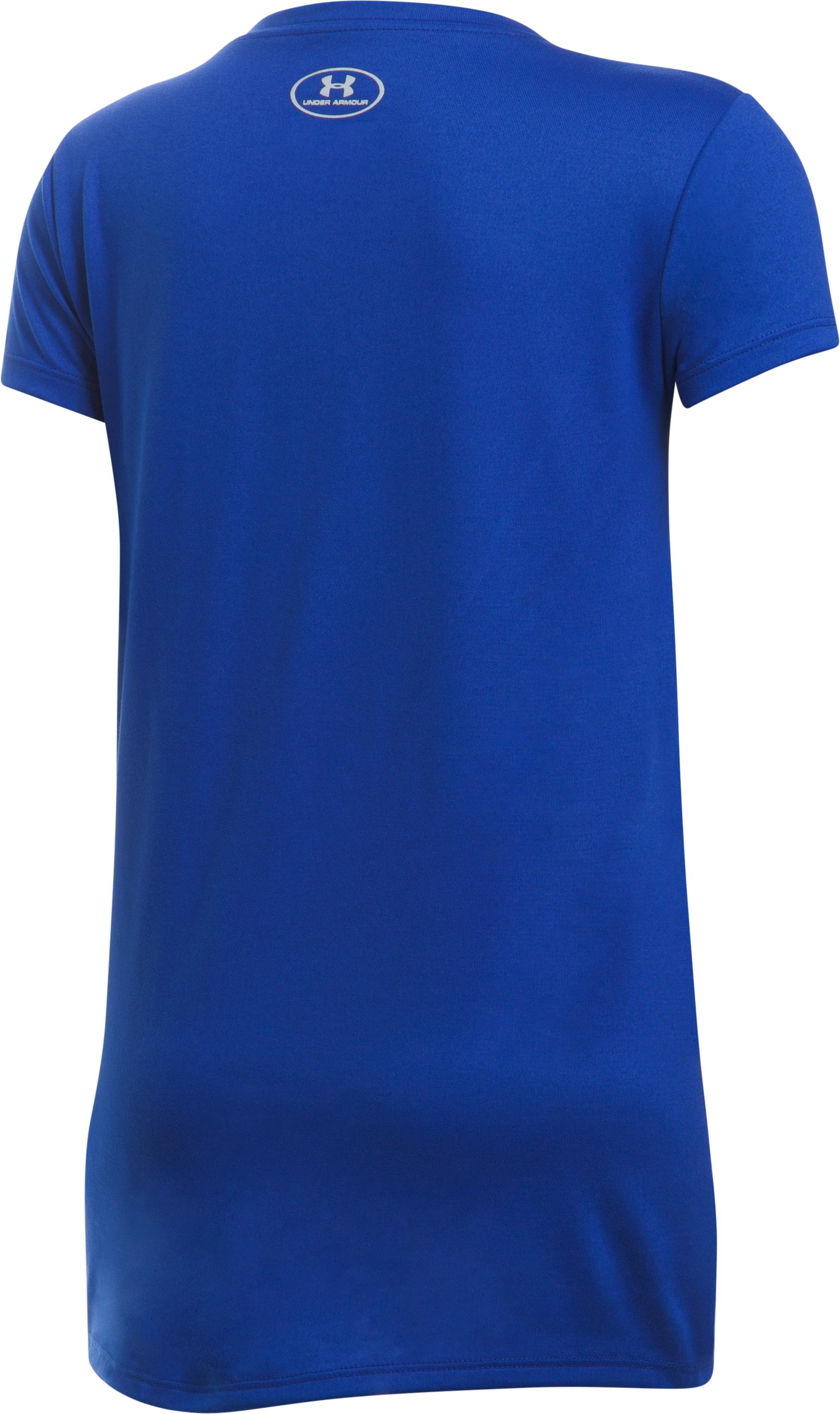 Girls' New York Mets UA Tech™ T-Shirt, Royal,