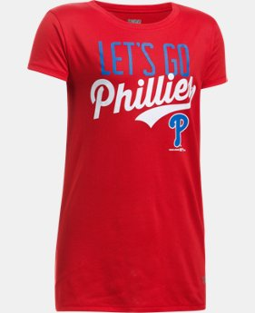 New to Outlet Girls' Philadelphia Phillies UA Tech™ T-Shirt  1 Color $17.99