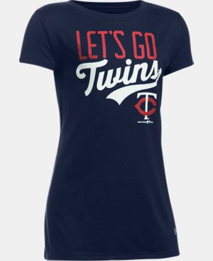 Girls' Minnesota Twins UA Tech™ T-Shirt LIMITED TIME: FREE U.S. SHIPPING 1 Color $24.99