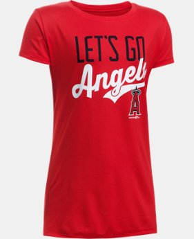 Girls' Los Angeles Angels UA Tech™ T-Shirt LIMITED TIME: FREE U.S. SHIPPING 1 Color $24.99