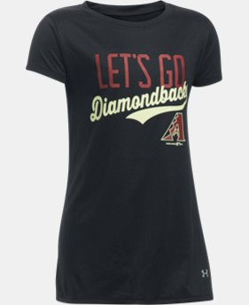 Girls' Arizona Diamondbacks UA Tech™ T-Shirt  1  Color Available $24.99