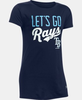 Girls' Tampa Bay Rays UA Tech™ T-Shirt  1 Color $24.99