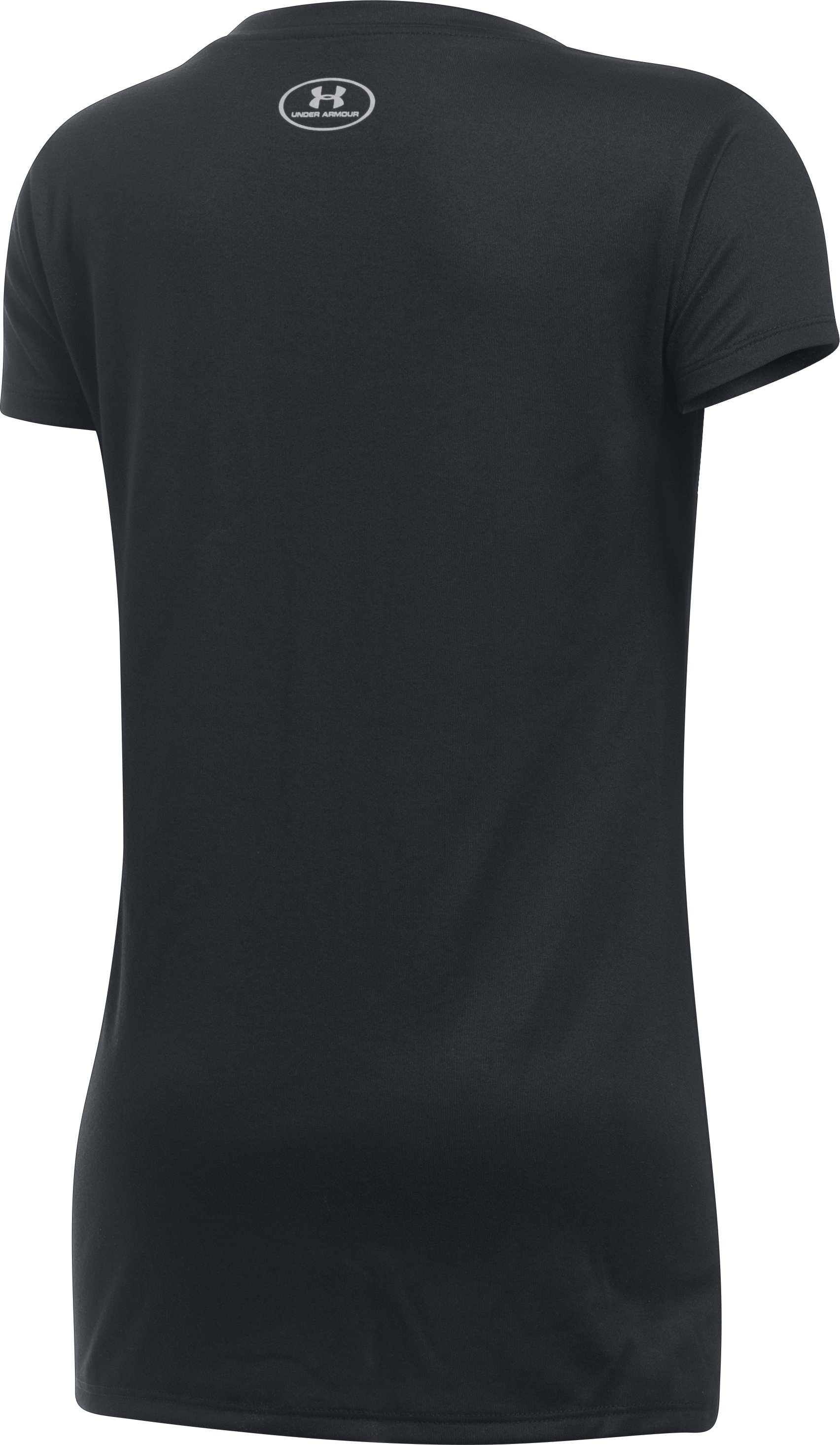 Girls' Seattle Marlins UA Tech™ T-Shirt, Black ,