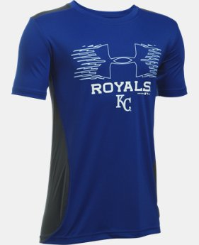 Boys' Kansas City Royals UA Tech™ Blocked T-Shirt   $26.99