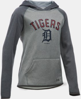 Girls' Detroit Tigers UA Armour® Fleece Hoodie  1 Color $49.99