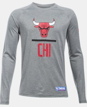 New Arrival Boys' NBA Combine Authentic UA Tech™ Lockup Long Sleeve  8 Colors $30
