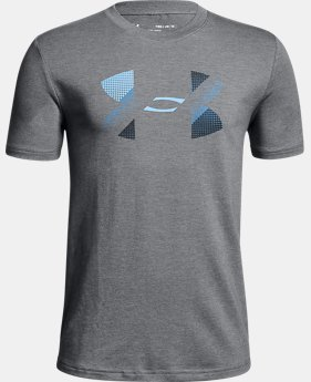 Boys' UA Big Logo T-Shirt LIMITED TIME: FREE U.S. SHIPPING 1  Color Available $25