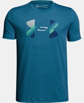 Boys' UA Big Logo T-Shirt  1  Color Available $30