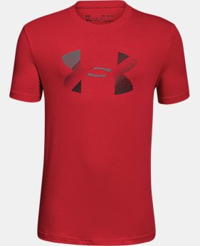 Boys' UA Big Logo T-Shirt  1  Color $25