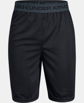 Boys' UA Tech™ Prototype Shorts 2.0 LIMITED TIME: FREE SHIPPING 1  Color Available $25