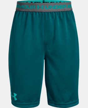 Boys' UA Tech™ Prototype Shorts  3  Colors Available $15