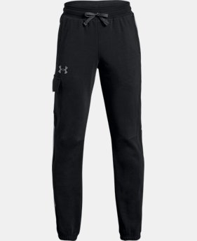 New Arrival  Boys' UA Microthread Terry  Joggers LIMITED TIME: FREE SHIPPING 2 Colors $55