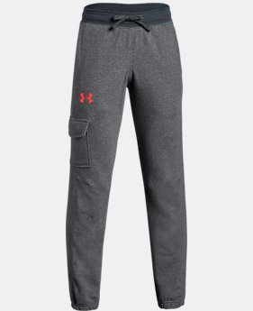 Boys' UA Microthread Terry  Joggers  1 Color $45