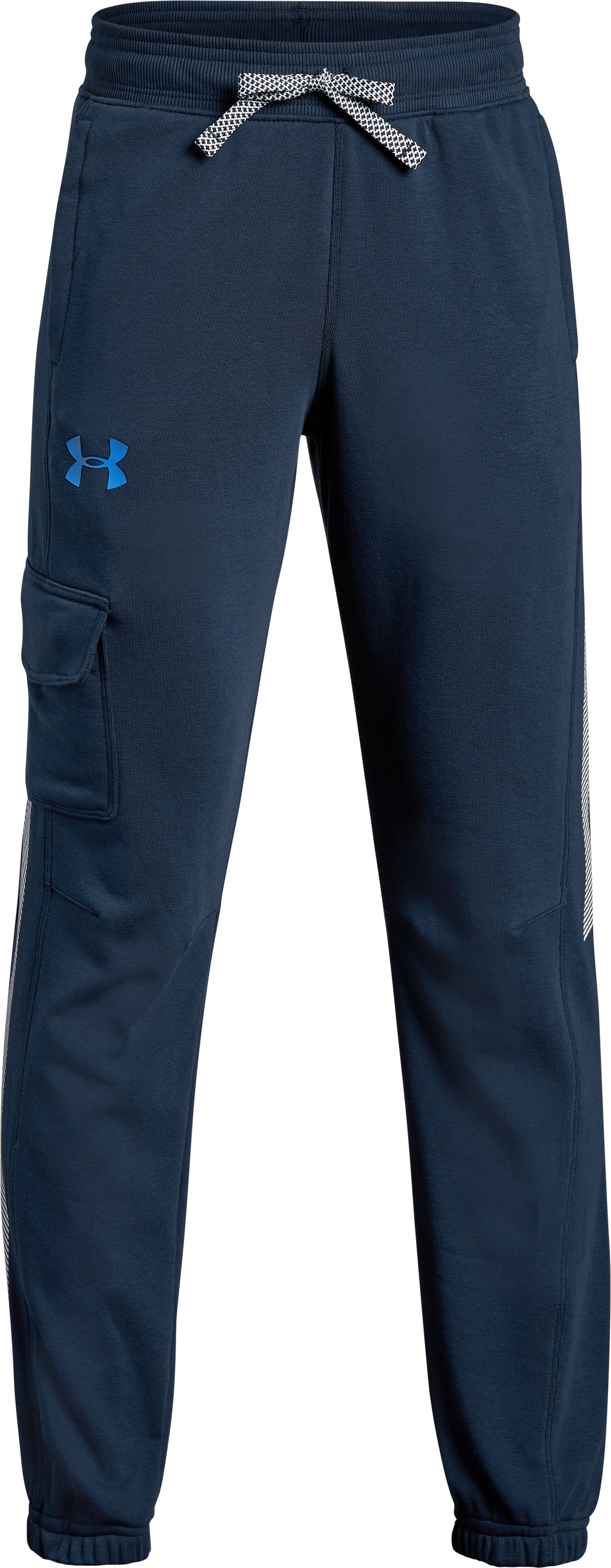 stretch joggers Boys' UA Microthread Terry  Joggers Ultra-soft, warm terry fleece that's also <strong>stretchy</strong> & breathable .
