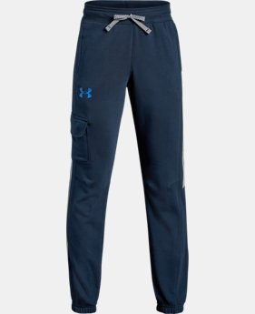 Boys' UA Microthread Terry  Joggers  1  Color Available $45