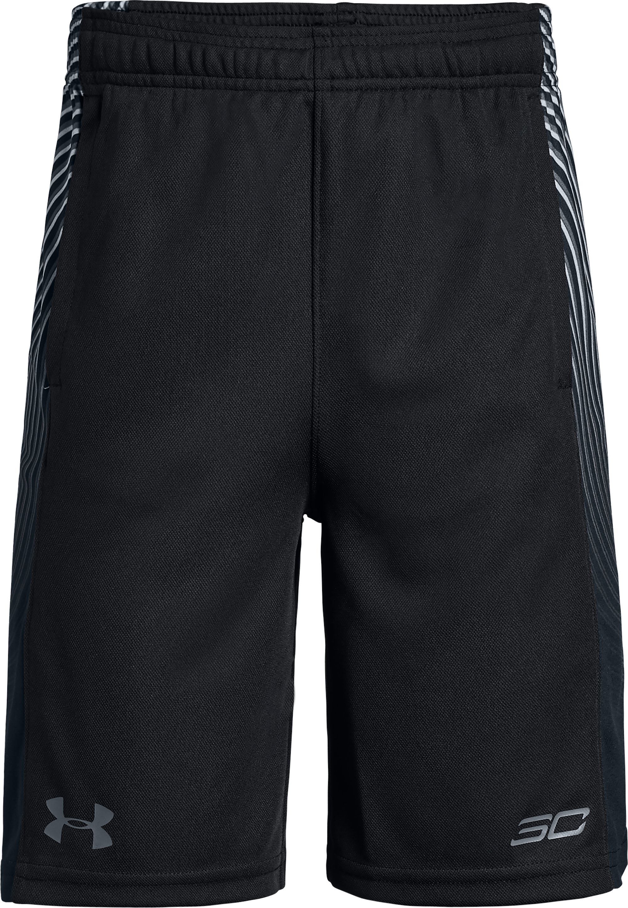 Boys' SC30 Waves Shorts, Black ,