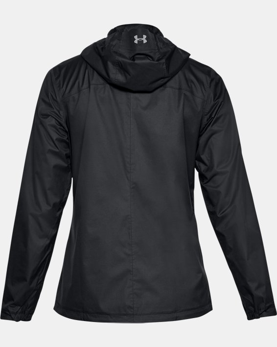 Women's UA Overlook Jacket, Black, pdpMainDesktop image number 4