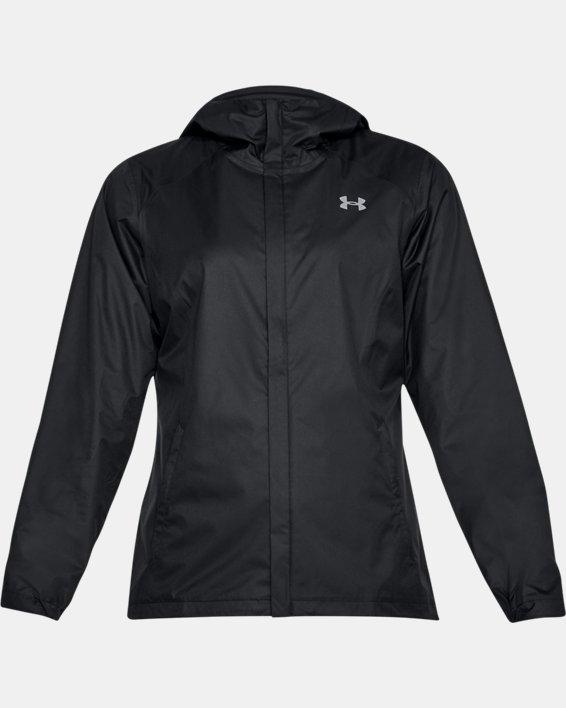 Women's UA Overlook Jacket, Black, pdpMainDesktop image number 3