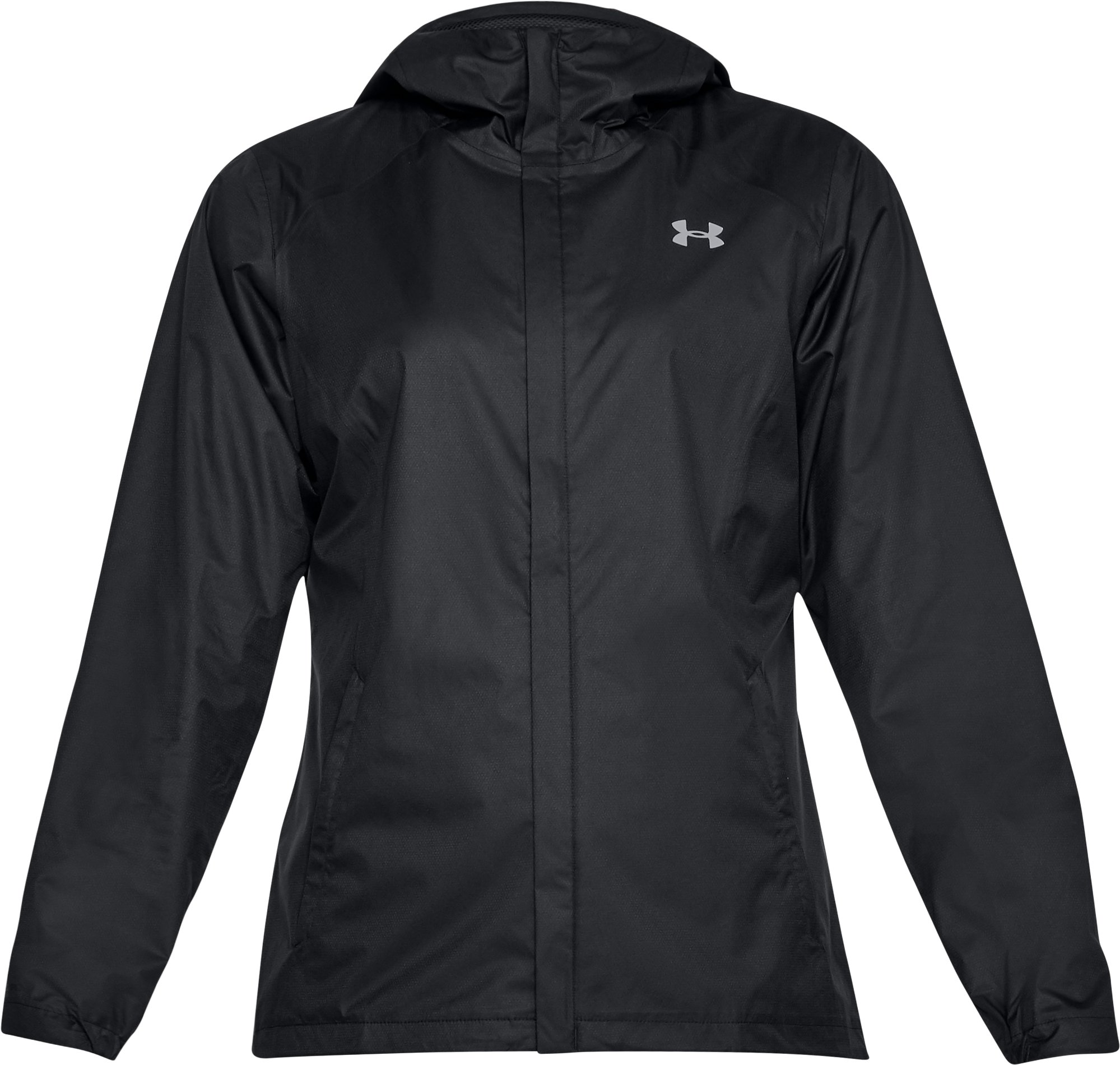Women's UA Overlook Jacket, Black ,